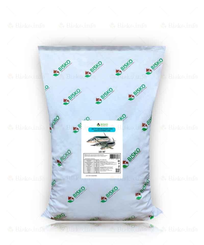 Корм для осетровых рыб 10 кг