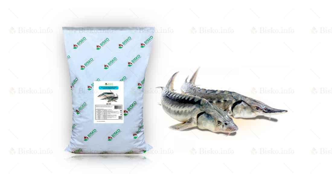 Корм для осетровых рыб Биско
